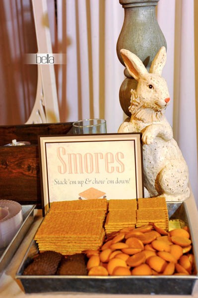 smores bar - wedding service - 1108