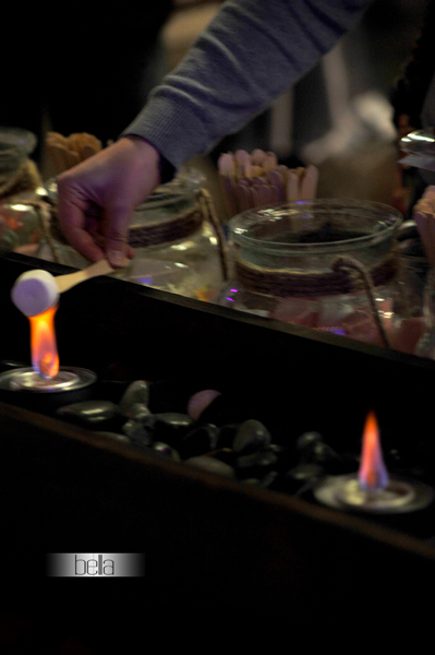 smores bar - wedding service - 1111