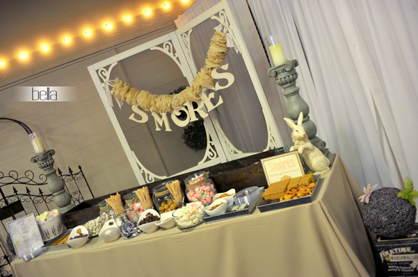smores bar - wedding service - 1112