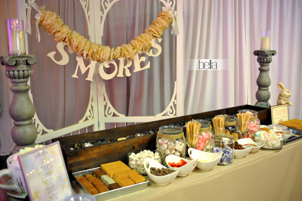 smores bar - wedding service - 1113
