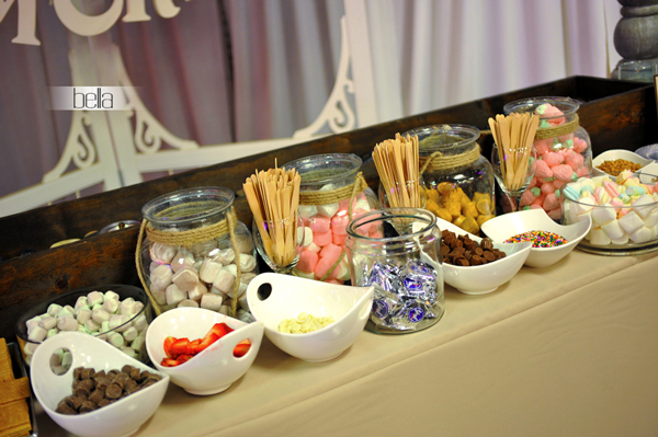 smores bar - wedding service - 1114