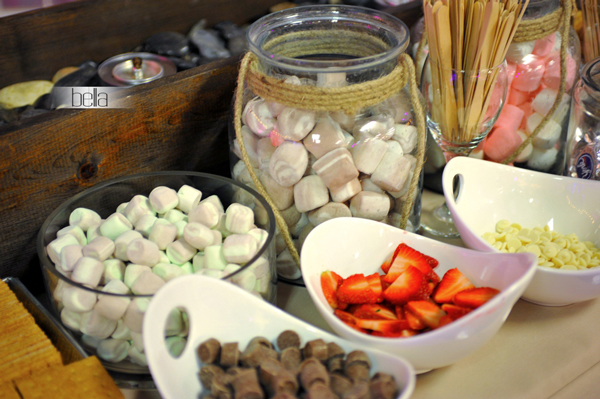 smores bar - wedding service - 1117
