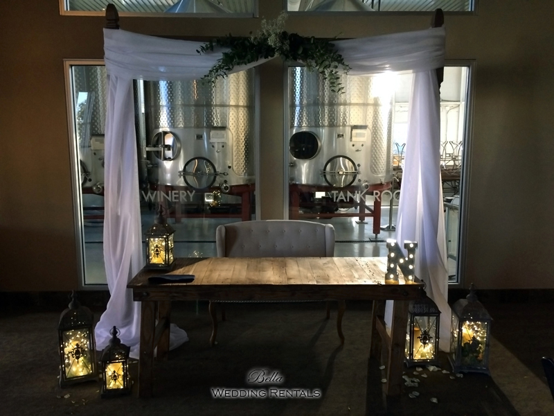 staging scenes - wedding services & rentals - 7645