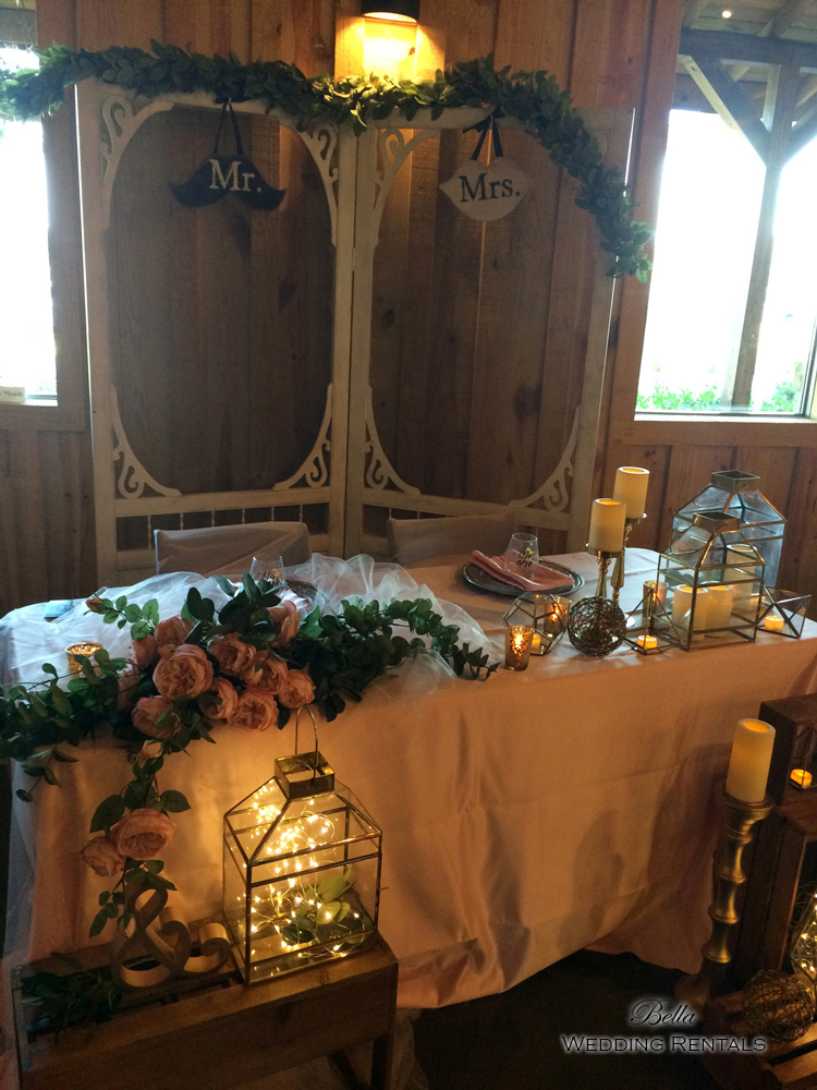 staging scenes - wedding services & rentals - 7668