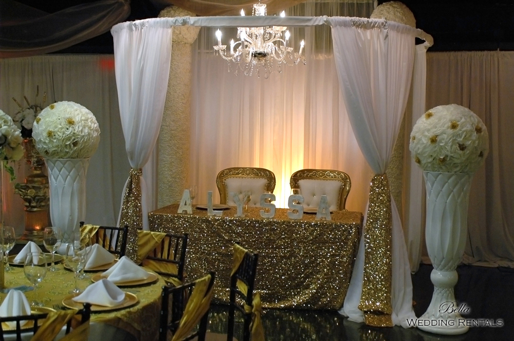 staging scenes - wedding services & rentals - 7675