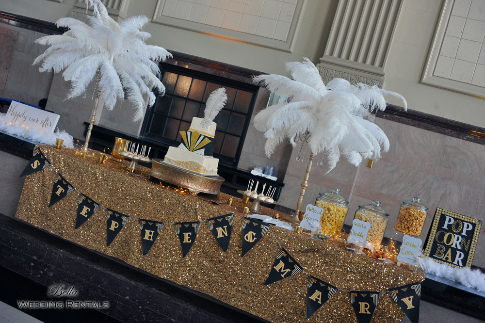 staging scenes - wedding services & rentals - 7691
