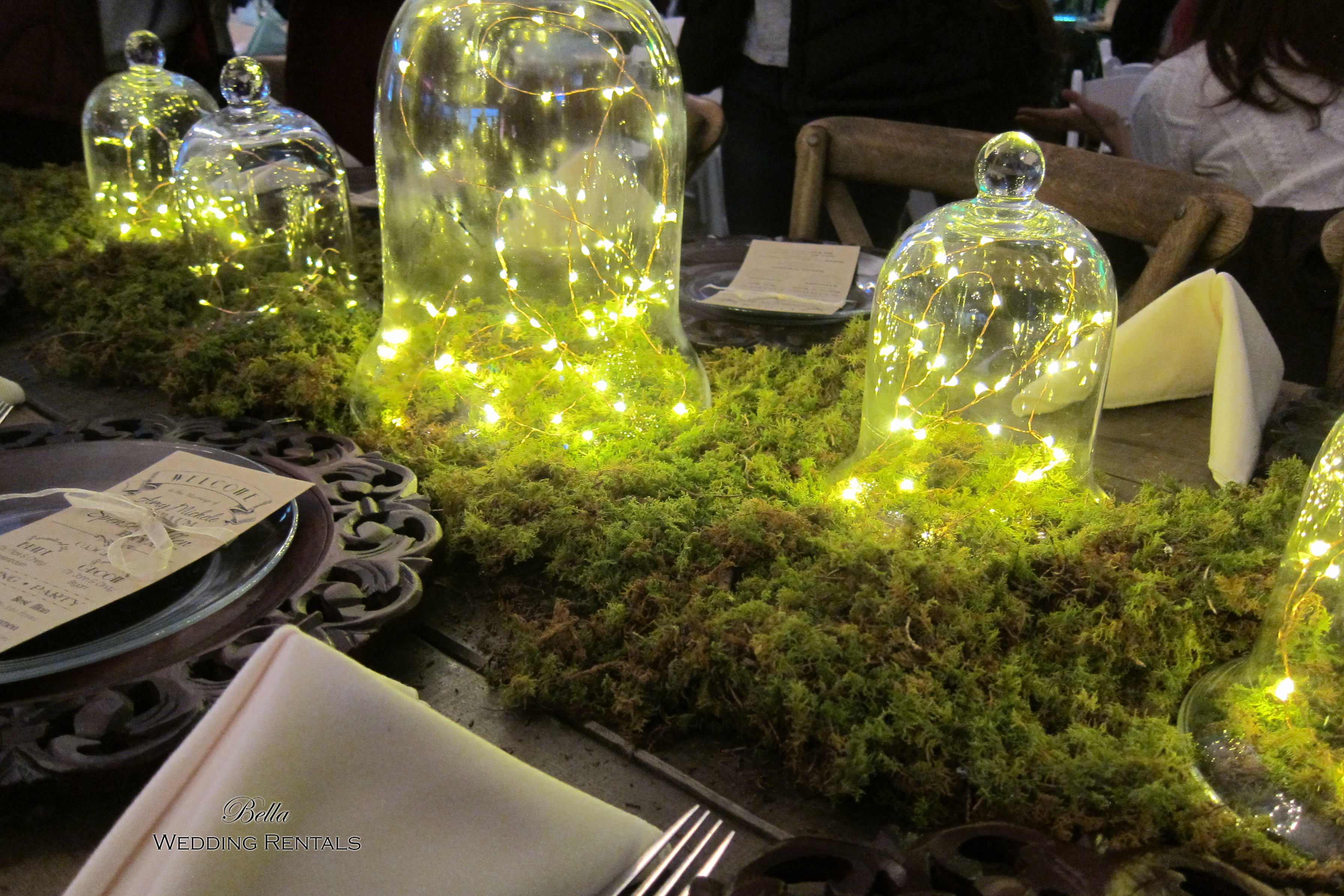 Moss Table Runners
