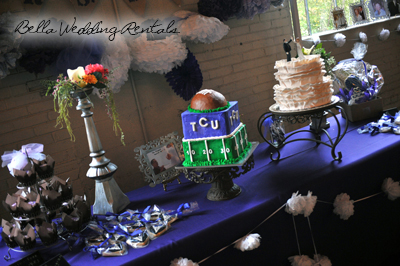 Wedding Cake Tables