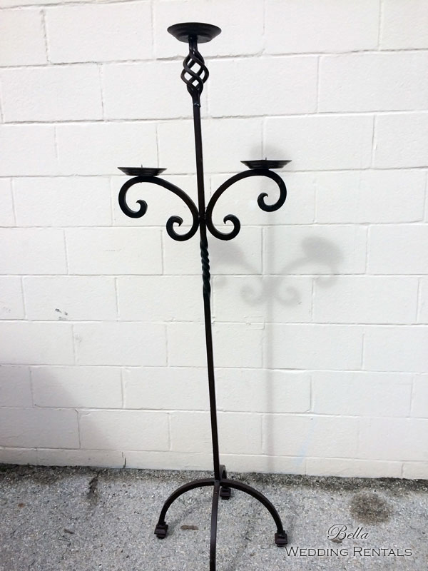 Wrought Iron Unity Candlestand
