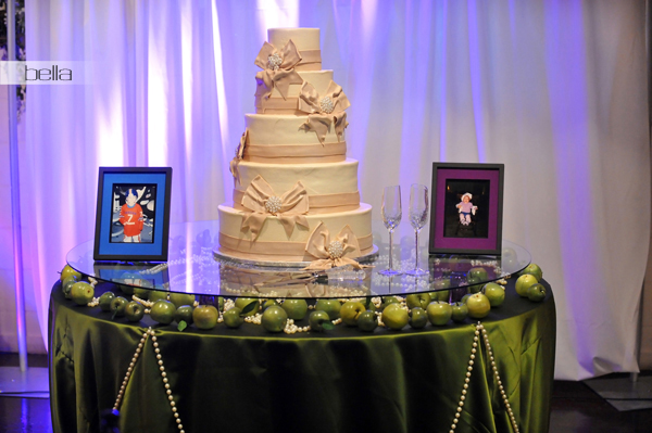wedding cake table - wedding day - 2017