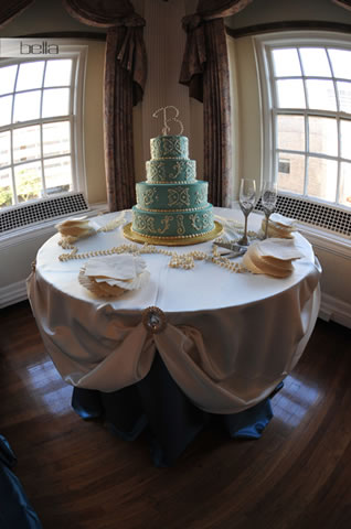 wedding cake table - wedding day - 2019