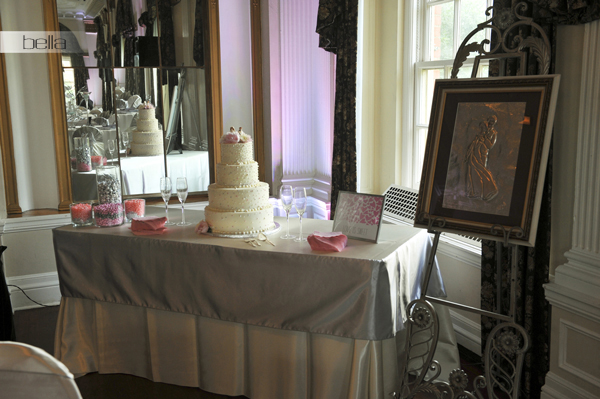 wedding cake table - wedding day - 2023