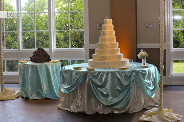 wedding cake table - wedding day - 2026
