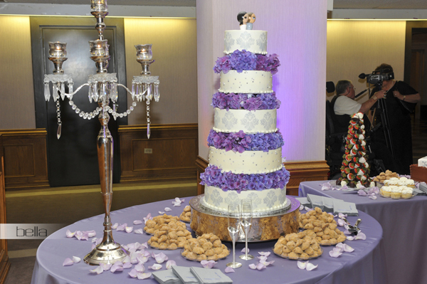 wedding cake table - wedding day - 2039
