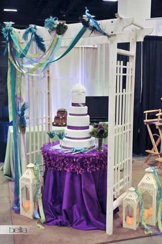 wedding cake table - wedding day - 2069