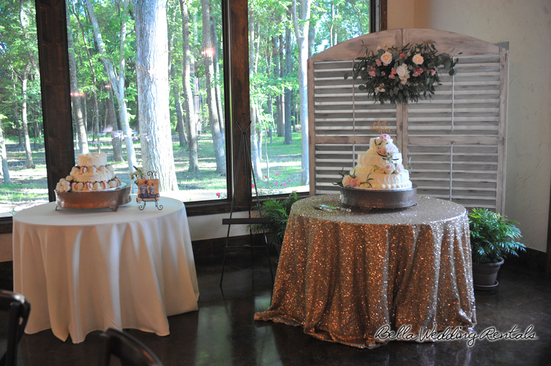 wedding cake table - wedding day - 2089
