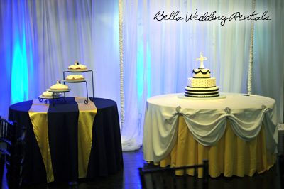 wedding cake table - wedding day - 2106