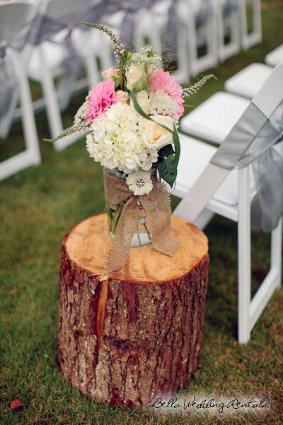 Wooden Aisle Stump