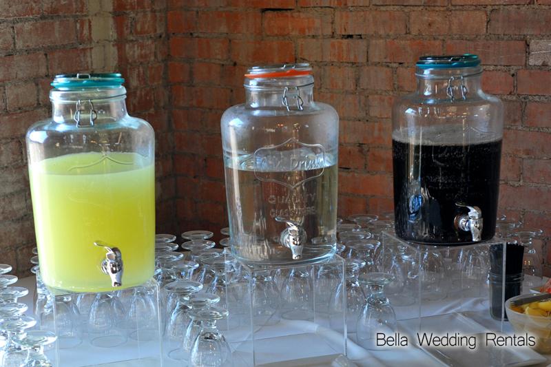 Beverage Storage Jars Gl